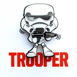 Lampara led 3D pared Stormtrooper Star Wars Disney mini