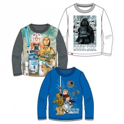 Camiseta Star Wars Lego surtido