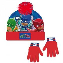 Conjunto gorro guantes PJ Masks