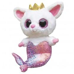 Peluche Pammee Fennec Fox Mermaid YooHoo & Friends rosa 12,5cm