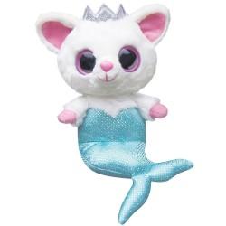 Peluche Pammee Fennec Fox Mermaid YooHoo & Friends azul 12,5cm