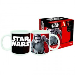 Taza Star Wars Episodio VII Stormtrooper porcelana