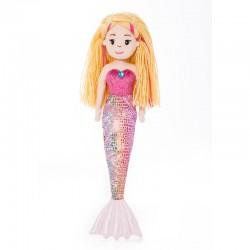 Peluche Sirena Melody Sea Sparkles 46cm