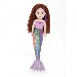 Peluche Sirena Pearl Sea Sparkles 46cm