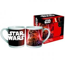 Taza Star Wars Episodio VII Chewbacca porcelana