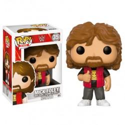 Figura POP! Vinyl WWE Mick Foley Old School