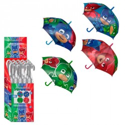 Paraguas PJ Masks 42cm surtido