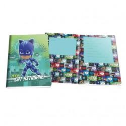 Cuaderno A4 PJ Masks cuadriculado