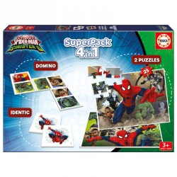 Superpack Spiderman Marvel 4 en 1