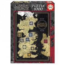 Puzzle Juego de Tronos 1000pz