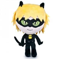 Peluche Cat Noir Prodigiosa Ladybug soft 24cm