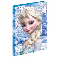 Carpeta Frozen Disney Heart gomas