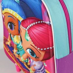 Trolley 3D EVA Shimmer y Shine 31cm