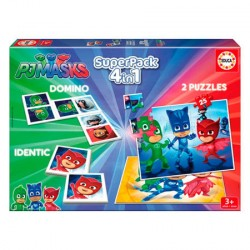 Superpack PJ Masks 4 en 1