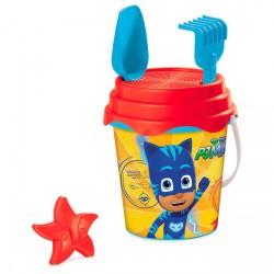 Cubo playa PJ Masks molde*