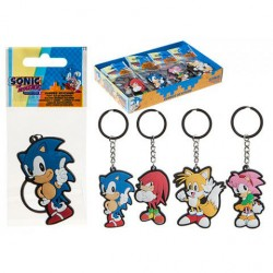 Llavero Sonic the Hedgehog rubber surtido