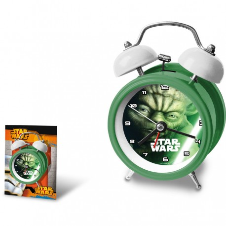 Despertador Star Wars Yoda 12cm