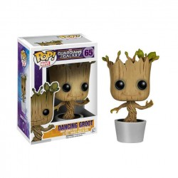 Figura POP Marvel Guardianes de la Galaxia Dancing Groot