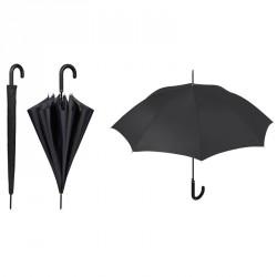 Paraguas automatico negro funda 61cm