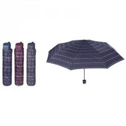 Paraguas plegable manual love 54cm surtido
