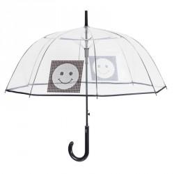 Paraguas automatico transparente burbuja smile POE 61cm
