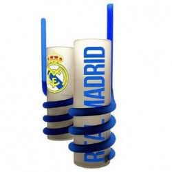 Vaso largo Real Madrid