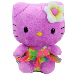 Peluche Hello Kitty TY Beanie Babies Purpura 15cm