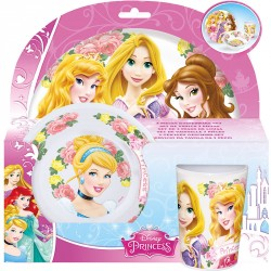 Set desayuno Princesas Disney Tea Party melamina
