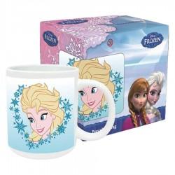 Taza Frozen Disney Elsa ceramica