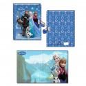 Diario 3D Frozen Disney candado
