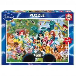 Puzzle El Maravilloso Mundo de Disney 1000pz