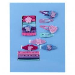 Blister accesorios pelo Peppa Pig 20pz