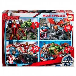 Puzzles progresivos Vengadores Avengers Marvel 50-80-100-150