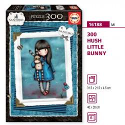 Puzzle Hush Little Bunny Gorjuss 300pz