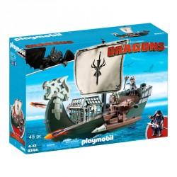 Barco de Drago Dragons Como Entrenar a tu Dragon Playmobil