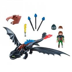 Hipo y Desdentao Dragons Playmobil