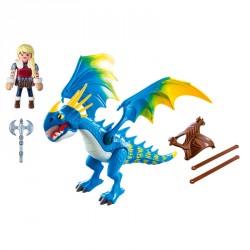 Astrid y Tormenta Dragons Playmobil