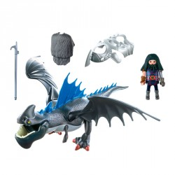 Drago y Dragon con Armadura Dragons Playmobil
