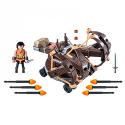Eret con Ballesta de 4 disparos Dragons Playmobil