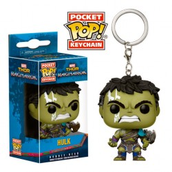 Llavero Pocket POP Marvel Thor Ragnarok Hulk Gladiator