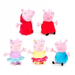 Peluche Peppa Pig Ready For Fun 27cm surtido
