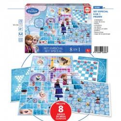 Set juegos 8 en 1 Frozen Disney