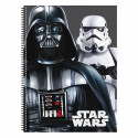 Cuaderno A4 Star Wars Flash tapa dura