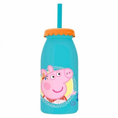 Botella leche Peppa Pig