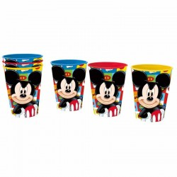 Set 3 vasos Mickey Disney picnic