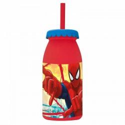 Botella leche Spiderman Marvel