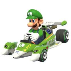 Caja coche Pull Speed Mario Kart 8 Nintendo Circuit Special Luigi