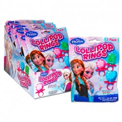 Caramelo lollipop anillo Frozen Disney