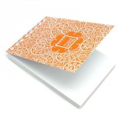 Bloc A7 Paisley One naranja