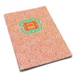 Cuaderno A4 Paisley One naranja